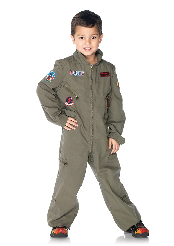 Leg Leg Leg Avenue TOP Gun Flight Suit CHLD Large 5b5210