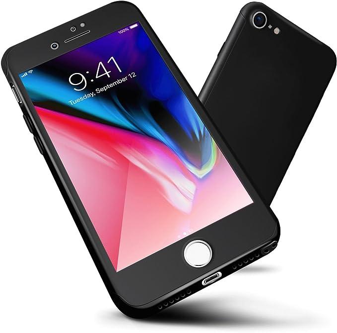 Funda iPhone 7, ORETech Carcasa iPhone 7 Case Cover 360 Grados con ...