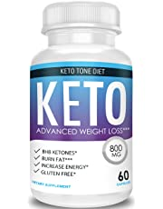 Keto Tone Diet - Advanced Weight Loss - Ketosis Supplement