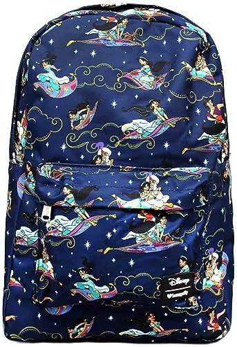 Loungefly Aladdin Magic Carpet Ride Print Backpack Standard
