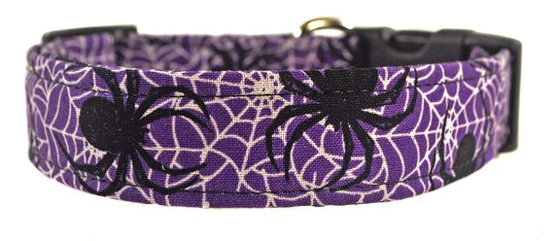 Halloween Dog Collar - The Creepy Spiders