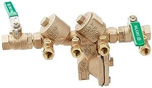 Zurn Wilkins 12-975XL2 1/2-Inch Lead Free Reduced Pressure Backflow Preventer