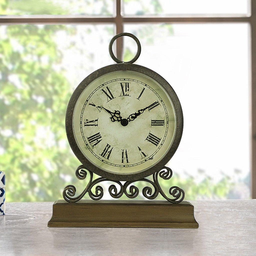 SESO UK- Reloj de Mesa de Hierro Retro Que Hace tictac Relojes de ...