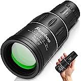 Pankoo 16X52 Monocular Telescope, High Power Prism Compact Monoculars for Adults Kids HD Monocular Scope for Bird Watching Hu