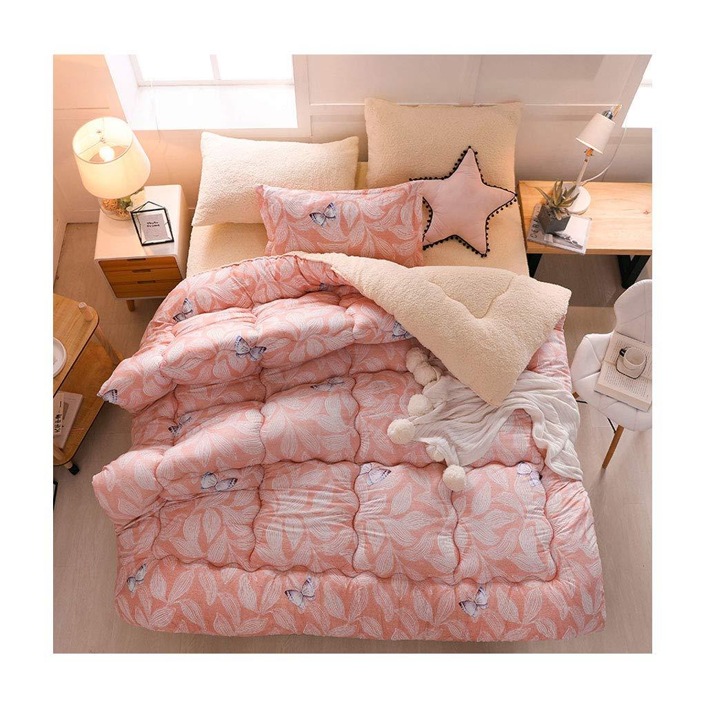 信頼 ファッション厚みの保温暖かい秋と冬の柔らかい個々のダブルキルトコアベッドルームホステルベッドライニング (色 : pink Pink, サイズ サイズ さいず : 150×200cm(2.5kg)) (色 B07MBRNFC2 150×200cm(2.5kg)|Dark pink Dark pink 150×200cm(2.5kg), エコウェーブ:c94c88d8 --- itourtk.ru