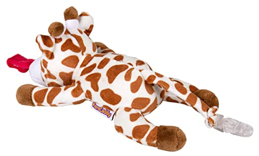Amazon.com: KareCaddy Animal Chupetes – Peluche suave con ...