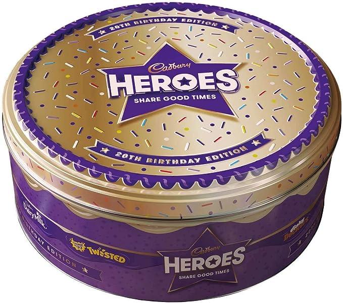 Cadbury Heroes Chocolate Tub 800 G