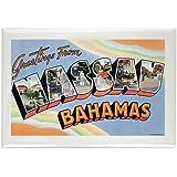 "CafePress - Nassau Bahamas Rectangle Magnet - Rectangle Magnet, 2""x3"" Refrigerator Magnet"