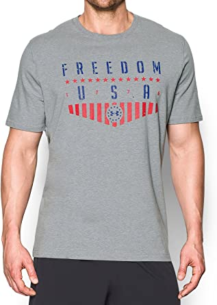 Under Armour - Camiseta americana para hombre: Amazon.es: Ropa y accesorios