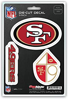 product image for NFL San Francisco 49ers Team Decal, 3-Pack