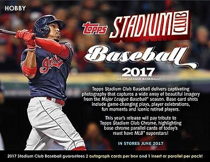 Amazon.com: 2017 Topps Stadium Club Baseball Hobby 16 Box Case (Factory Sealed): Sports Collectibles