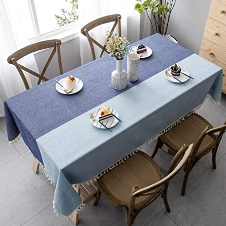 Pahajim Manteles De Mesa Estilo Simple Manteles Mesa Rectangular ...