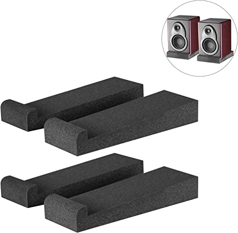 """Effektive 7/"""" Absorberplatte zur akustischen Entkopplung von Monitoren 5 Winkel"""