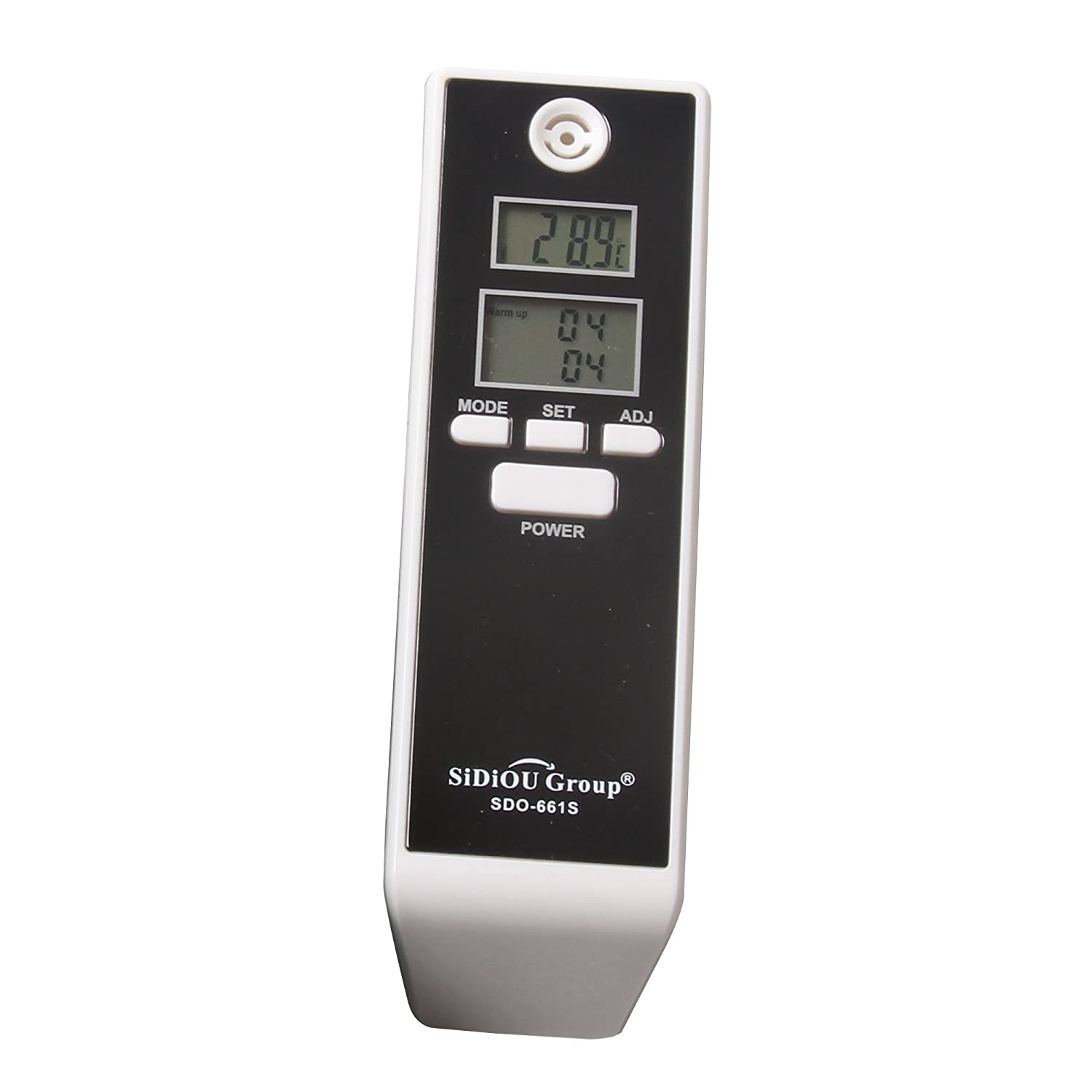 Sidiou Group Digital Breath Alcohol Tester portátil de pantalla dual Detector de