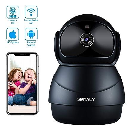 SMTALY C3 Cámara IP 1080P,Cámara Vigilancia WiFi Inalámbrico Interior,Cámara de Seguridad para
