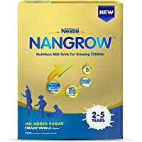 Nestle Nangrow Nutritious Milk Drink for Growing Children- 2-5 years, Creamy Vanilla, Bag-In-Box, 400g