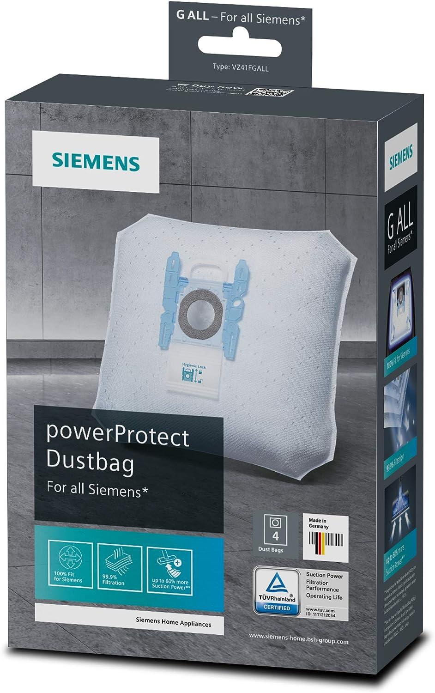 vsq5x1230 extreme silence power 1-40 Vacuum Cleaner Bags For Siemens vsq4g2122