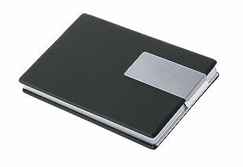 Wedo 2056601 Visitenkartenbox Good Deal Für Karten 95 X 60 Mm Schwarzsilber