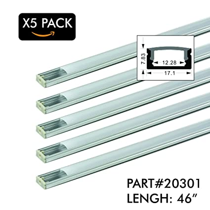 5 Pack of TECLED 4ft  46
