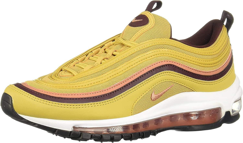 Nike Damen W Air Max 97 Sneakers Mehrfarbig Wheat Gold Terra Blush Burgundy Crush 700