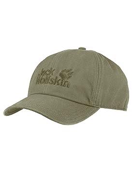 "c56a5dbf Jack Wolfskin Baseball Cap Headgear, Khaki, One Size/(22-24"""