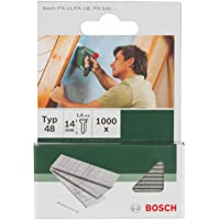 Bosch Home and Garden 14 mm Type 48 Tacker Nails (For Bosch Tackers, Hardwood and Softwood, Pack of 1000)