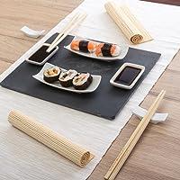 MazaliJuego para Sushi, Piedra, 11 Piezas, Multicolor