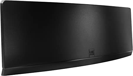One For All SV9430, Antena de TV Amplificada para Interior, Recibe TDT en un Rango de 25km, Antena Full HDTV Digital, Incluye Cable Coaxial de Alto ...