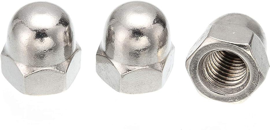 Anmas 5pcs M14 Stainless Steel Cap Dome Hex Nuts for Screws Blots Inner Diameter 14mm Height 25mm