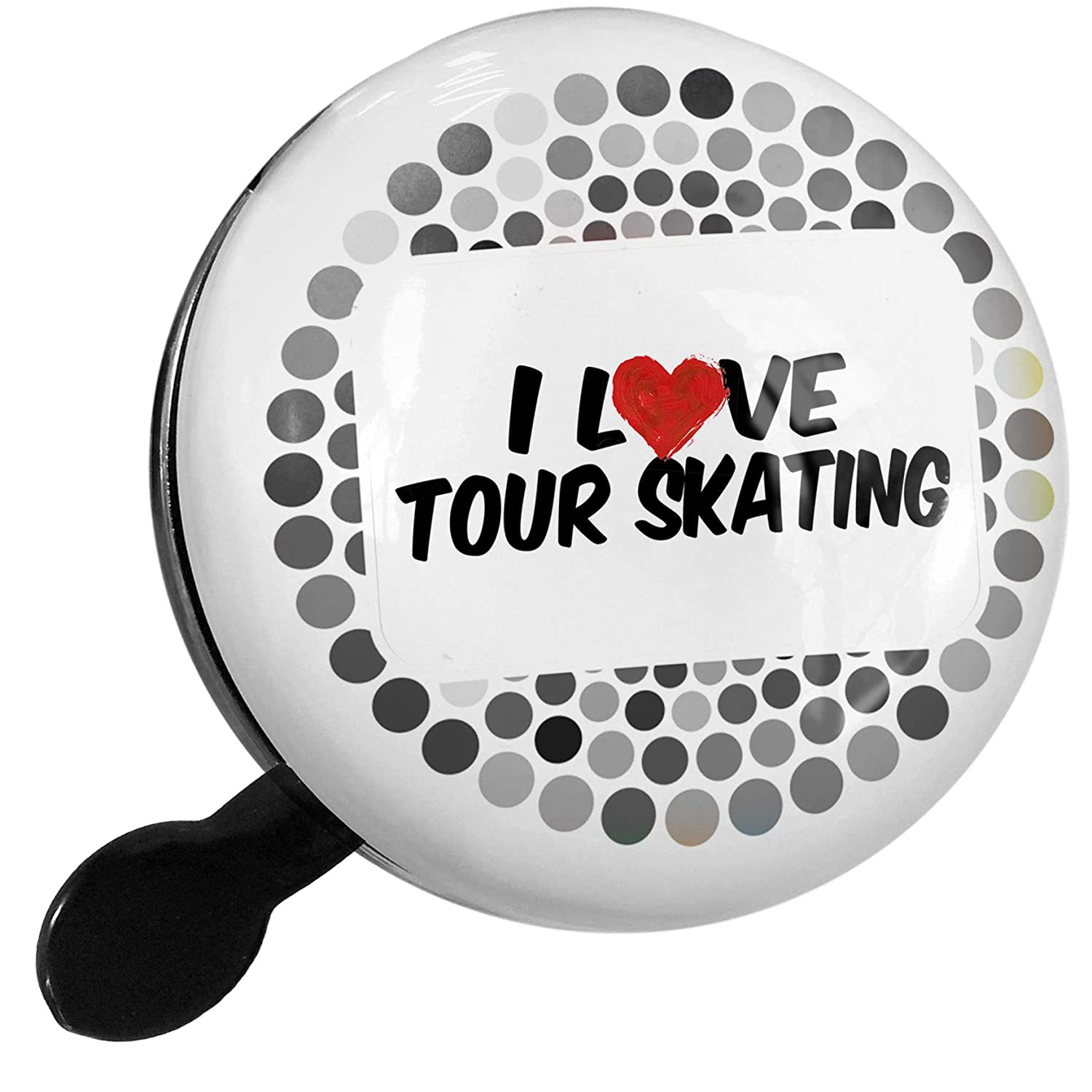 Amazon.com : NEONBLOND Bike Bell I Love Tour Skating Scooter ...