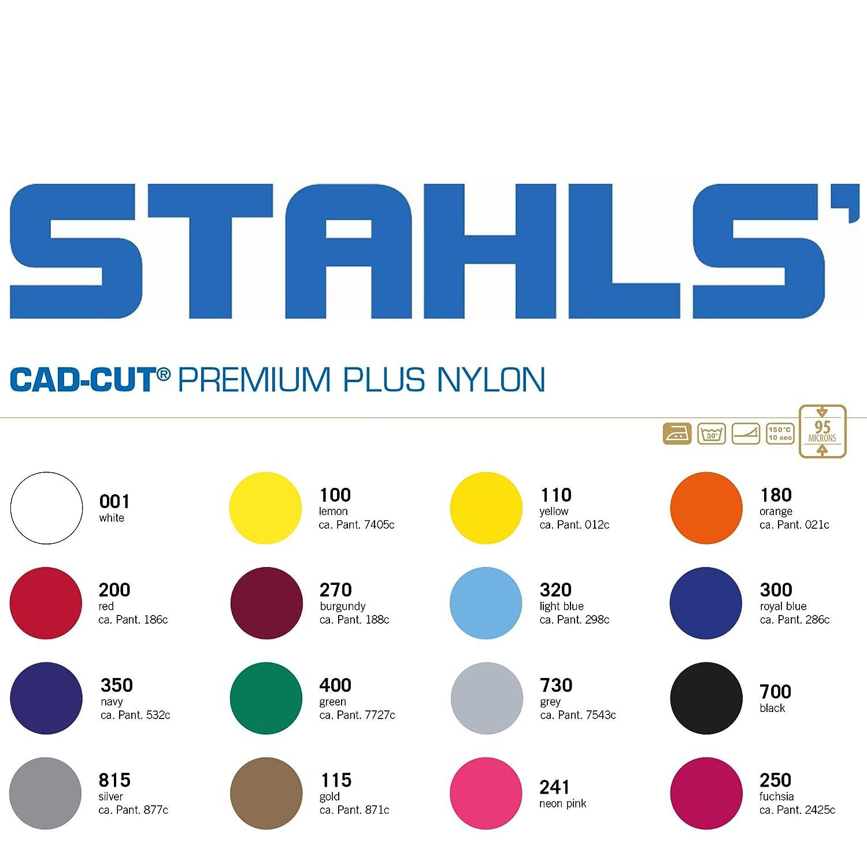 Stahls/® CAD-CUT/® Premium Plus Flexfolie 730 Grey 50cm x 1m B/ügelfolie Flex Folie