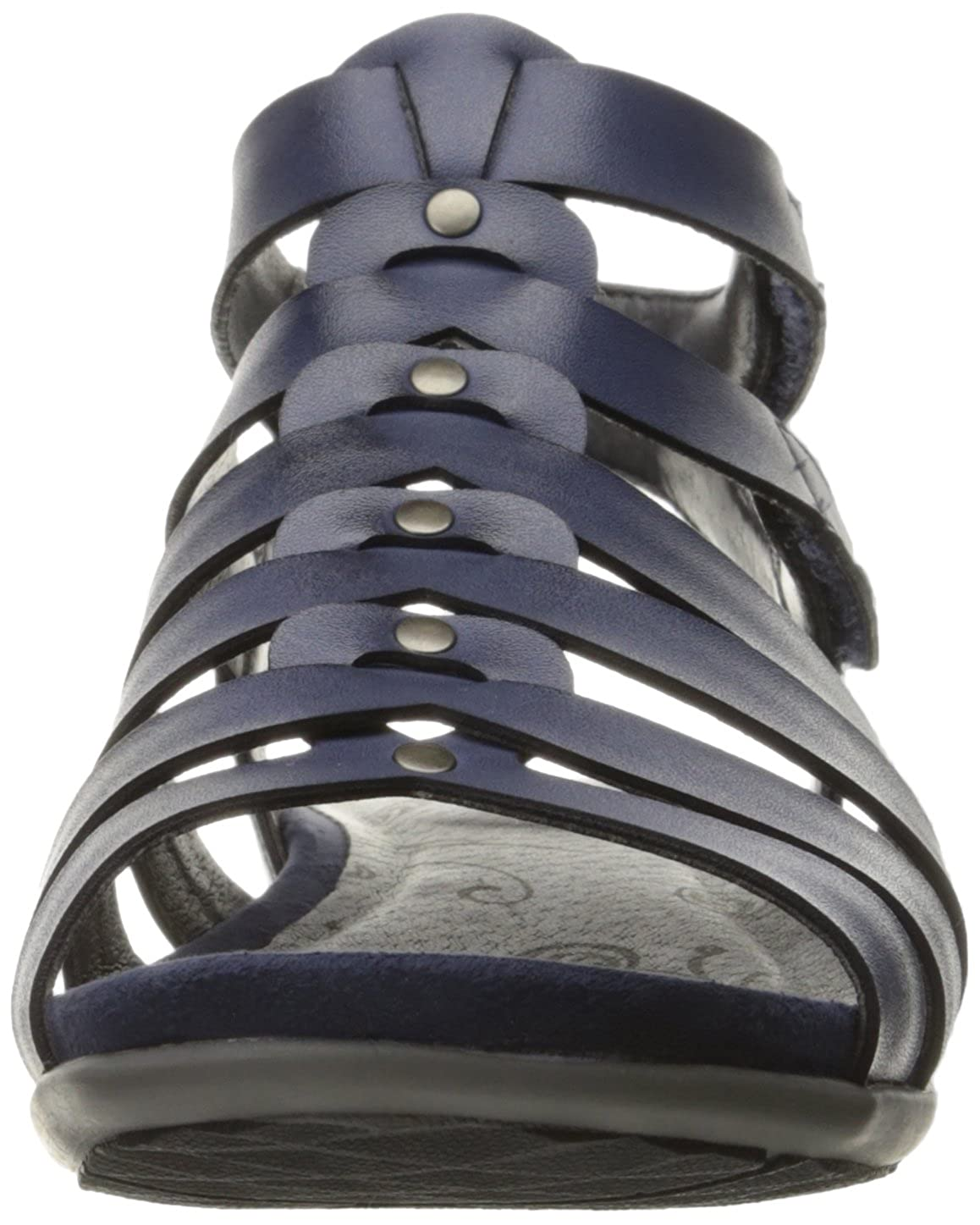 Amazon.com | BareTraps Womens Ronah Fisherman Sandal, Navy, 6.5 M US | Sandals