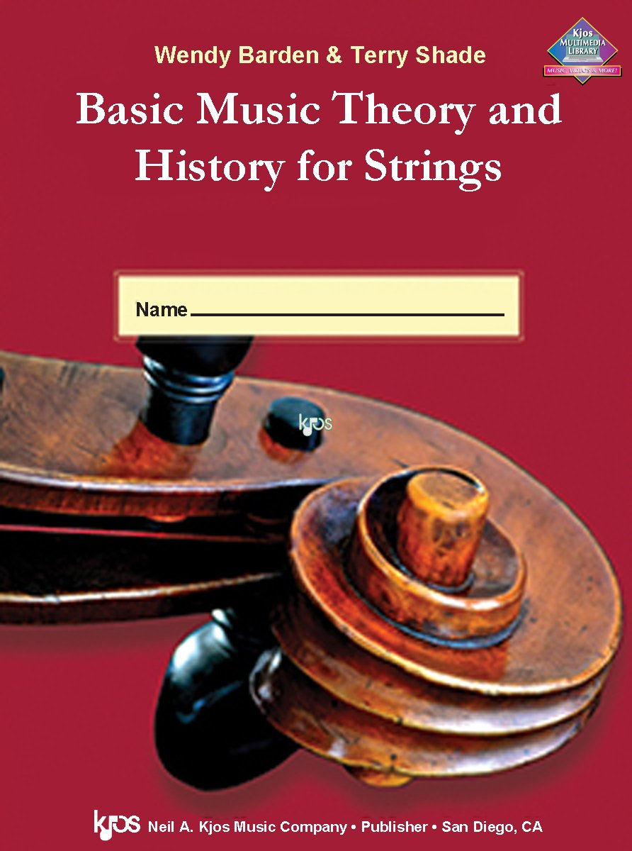 Workbooks music in theory and practice workbook : Amazon.com: L65VN - Basic Music Theory and History for Strings ...