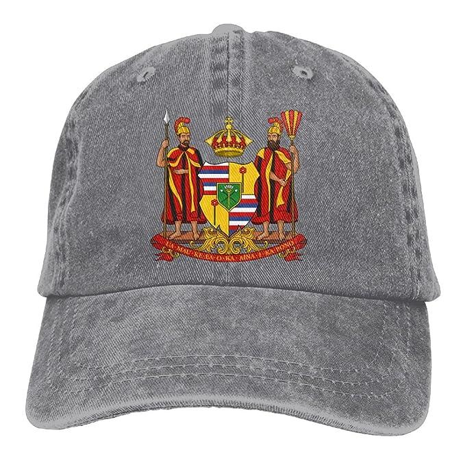 3fc020c8c7da9 Trableade Hawaiian Coat Arms Seal Unisex Sport Adjustable Structured  Baseball Cowboy Hat at Amazon Men s Clothing store