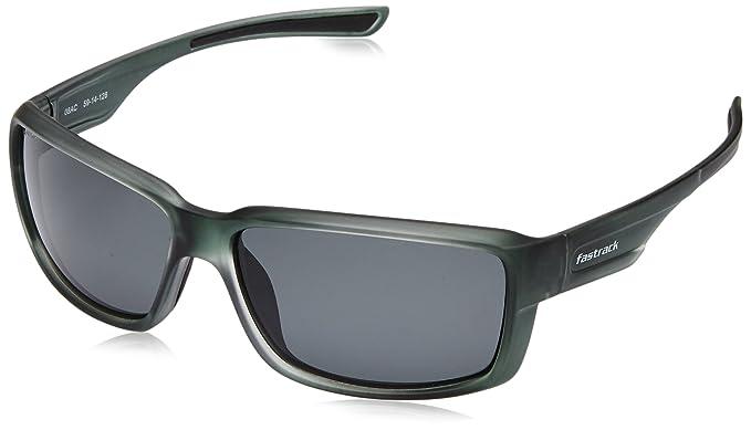 beff3e90565eb Fastrack Polarized Square Men s Sunglasses - (P320BK2P