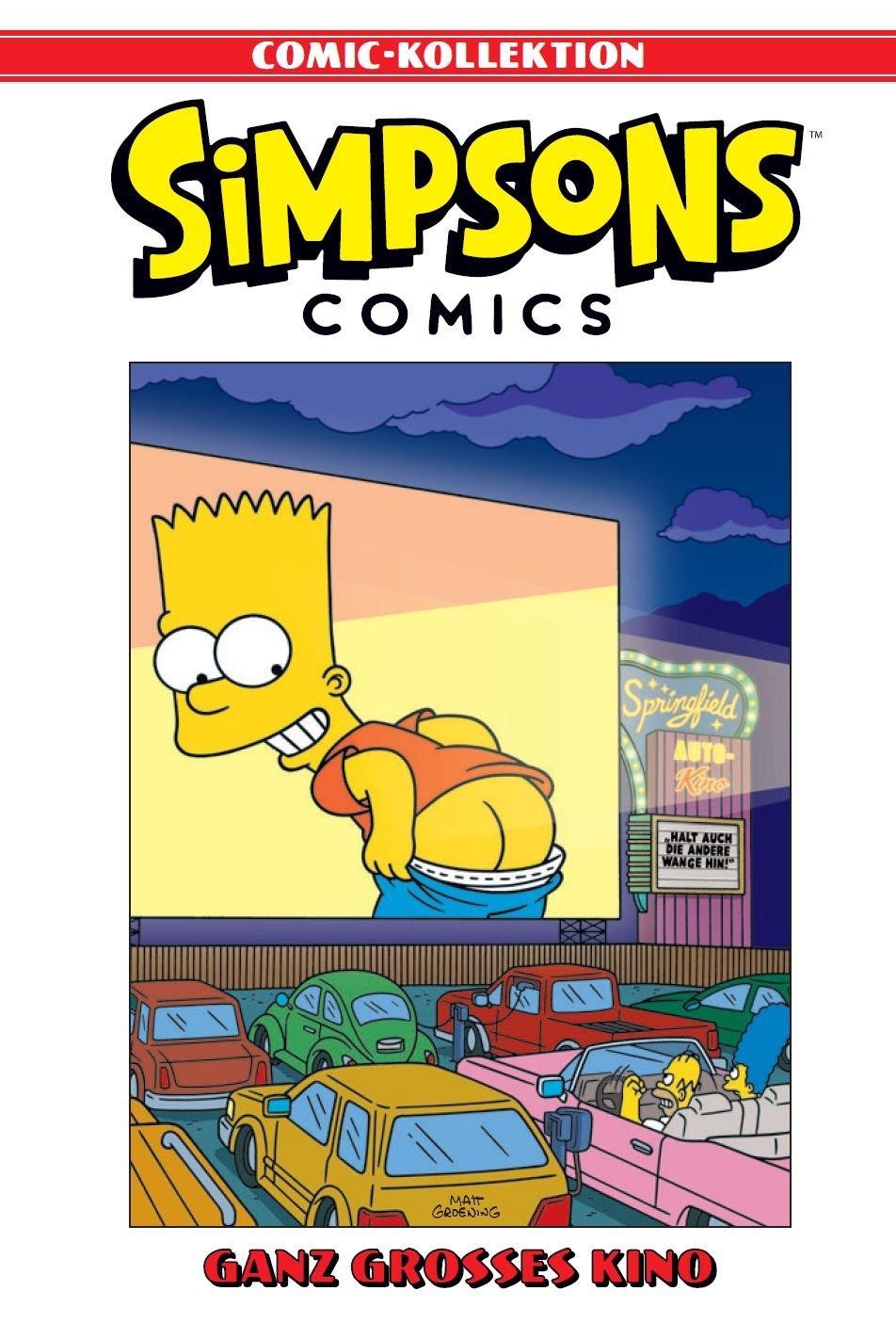 Simpsons Comic Kollektion  Bd. 9  Ganz Großes Kino
