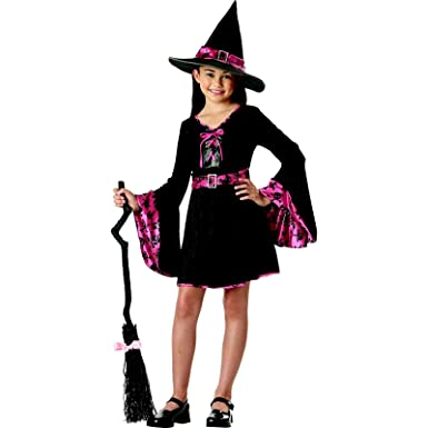 Buy Totally Ghoul Groovy Witch Halloween Costume NWT Girls Large ...