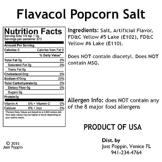 Amazon Flavacol Movie Theater Popcorn Seasoning 16oz