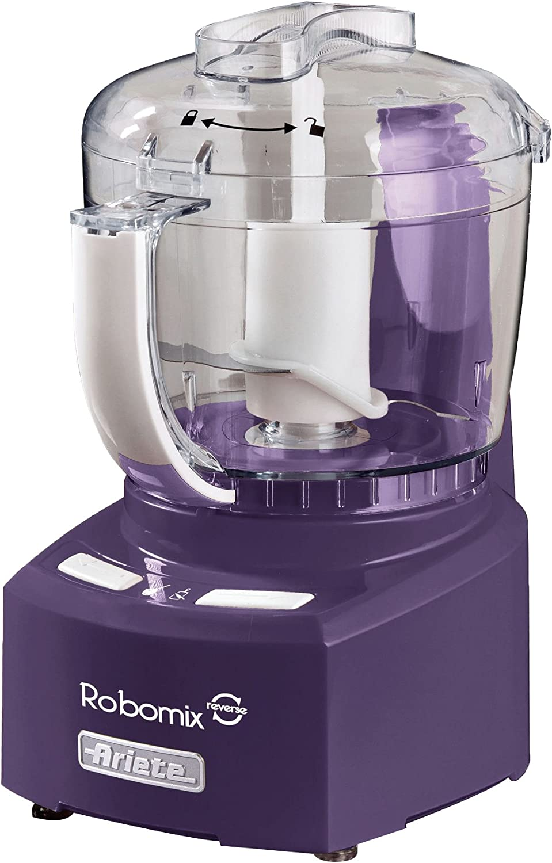 Ariete 1767 350W 0.4L Púrpura - Robot de cocina (0,4 L, Púrpura, De plástico, 350 W, 135 mm, 170 mm): Amazon.es: Hogar