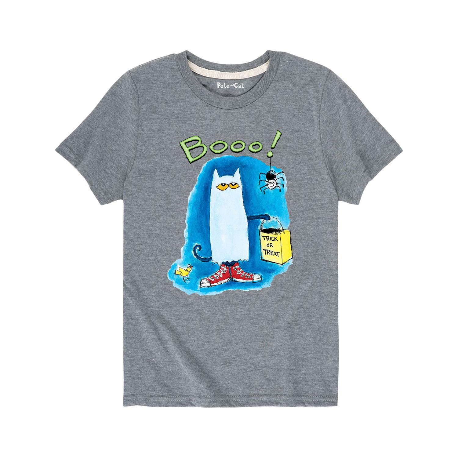 Pete the Cat Boo! Toddler Short Sleeve Tee