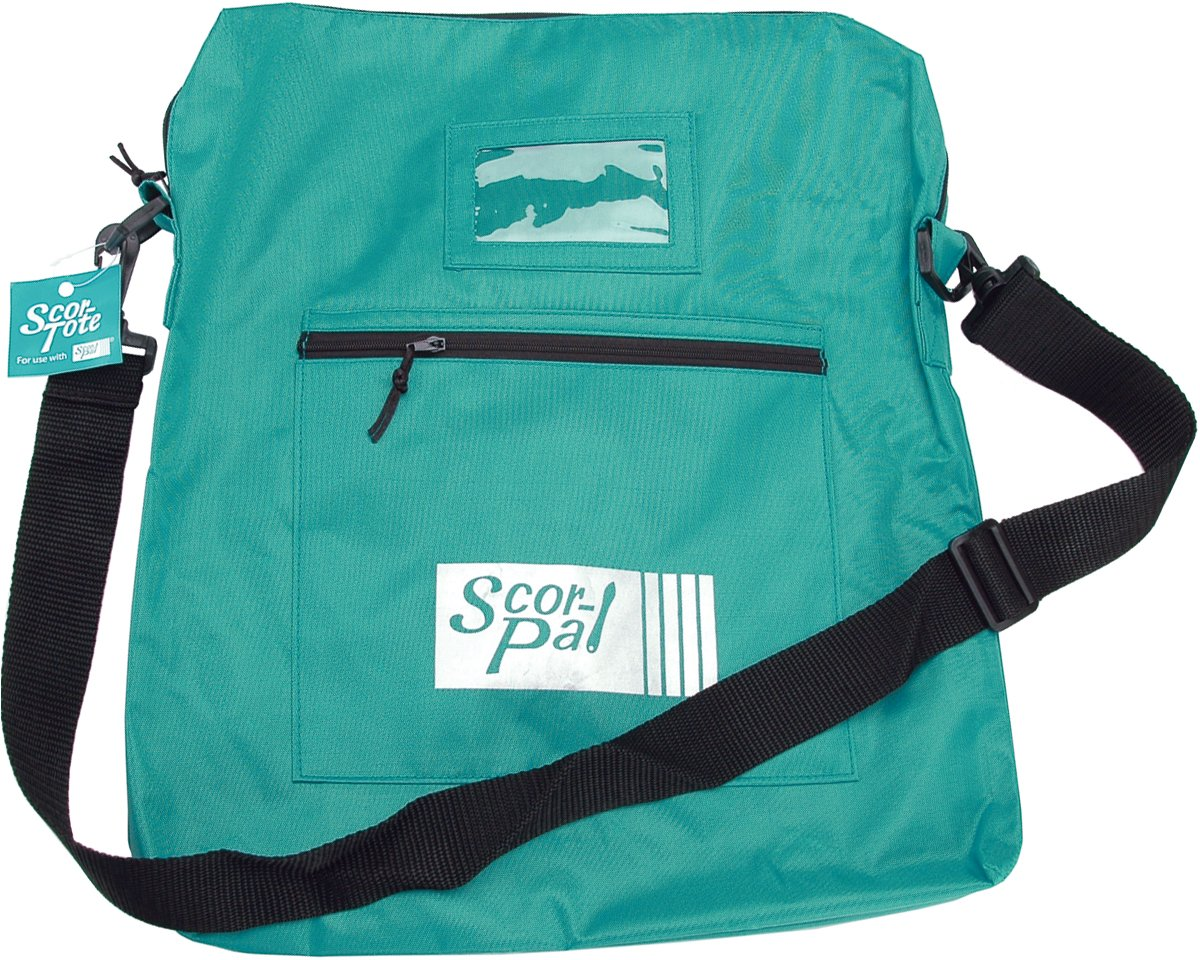 Scor-Pal 14 x 16-Inch Tote Carry Bag, Teal SP501
