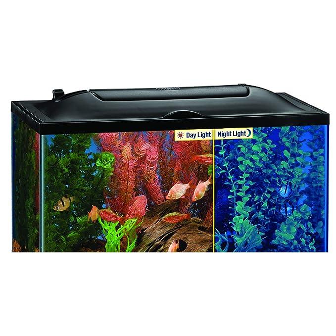Amazon.com: MarineLand Cubierta con luz LED: Mascotas