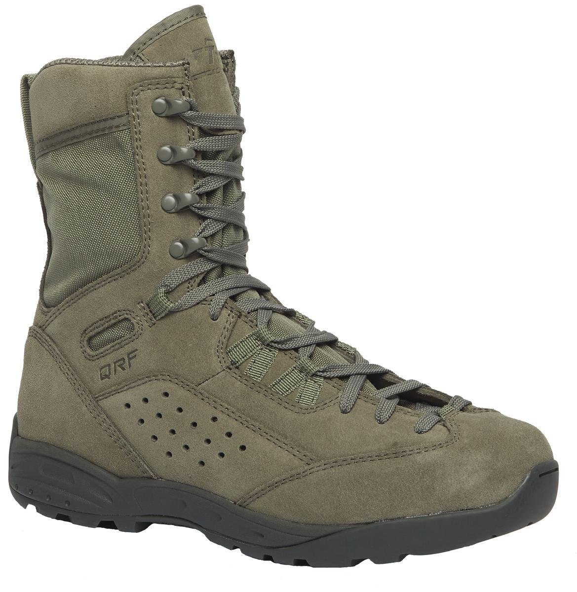 Belleville Tactical Research QRF ALPHA S9 9'' Hot Weather Boot, Sage, 8