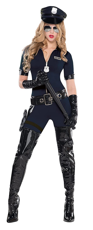 sc 1 st  Amazon.com & Amazon.com: Uk 10-12 Ladies Traffic Police Costume: Clothing