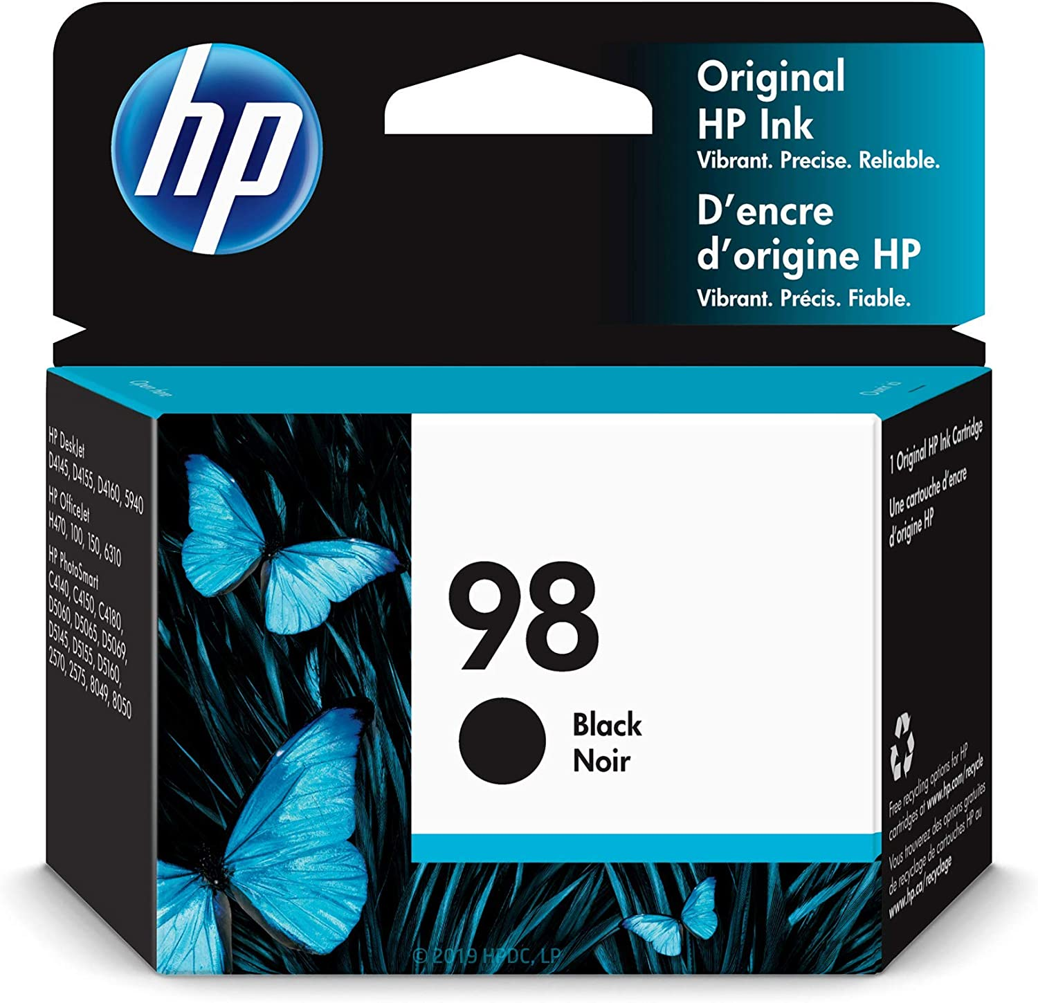 HP 98 | Ink Cartridge | Black | C9364WN,Black.