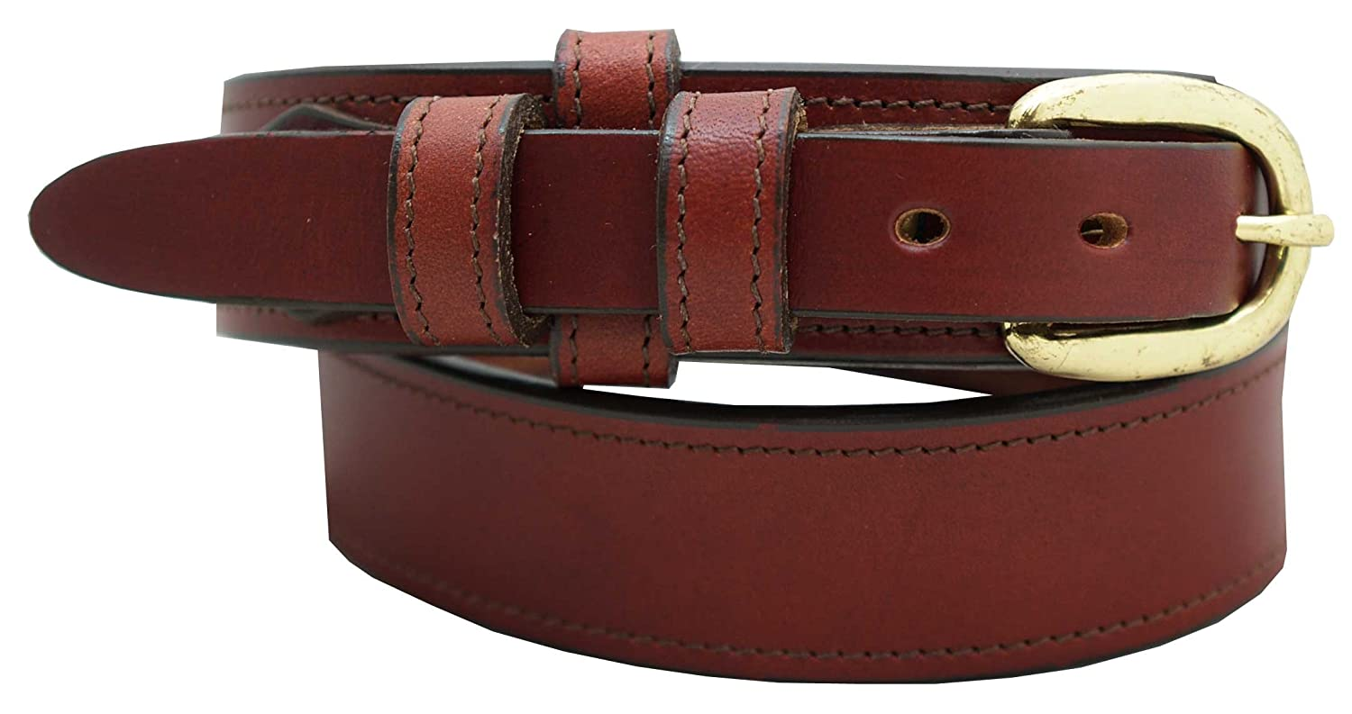 1 1//4 English Bridle Leather Dress Belt Mens Ranger Dress Belt
