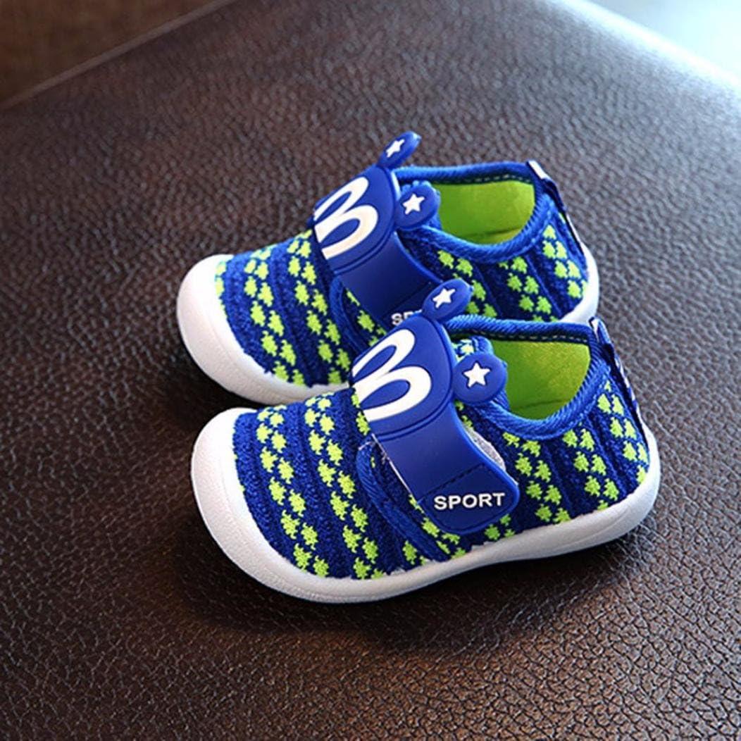 Toddler Children Kids Baby Cartoon Shoes Hook /& Loop Squeaky Single Sneaker UK