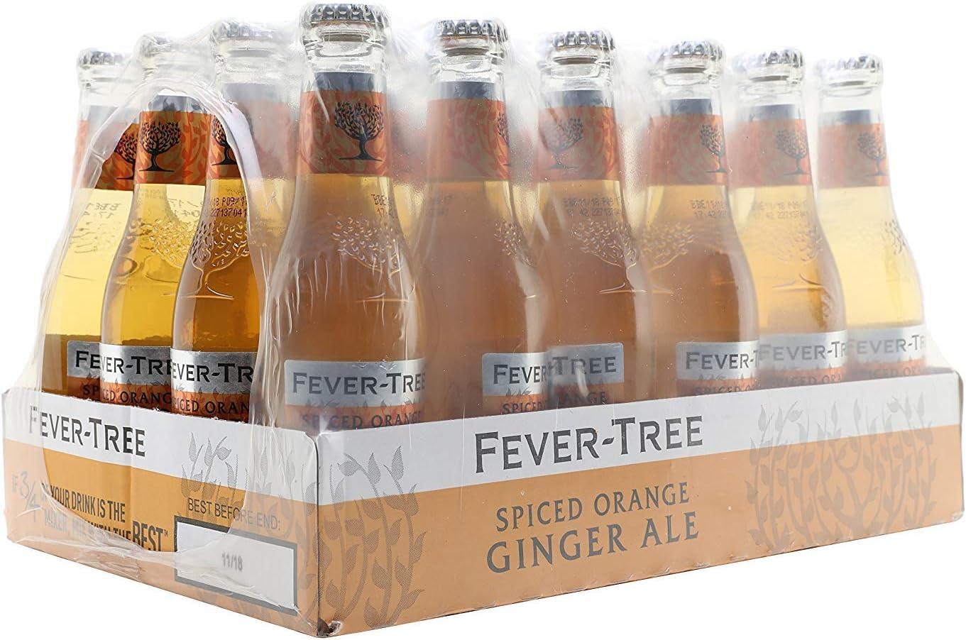 Fever-Tree Spiced Orange Ginger Ale 200 ml (Pack of 24)