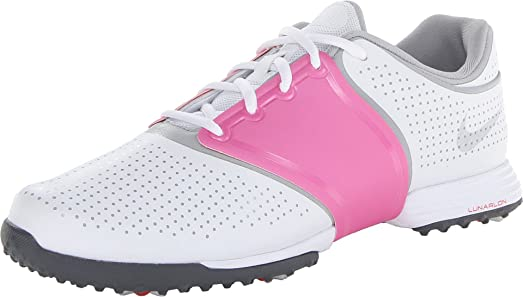 Womens Shoes Nike Golf Lunar Embellish Pure Platinum/Wolf Grey/White