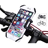 Bicicletta Handyhalterung – lemego universale del telefono in bicicletta con base in metallo per iPhone 7/6 Plus/6/5S/5/SE Samsung Galaxy S7/S6 Edge/S6 e dispositivi GPS